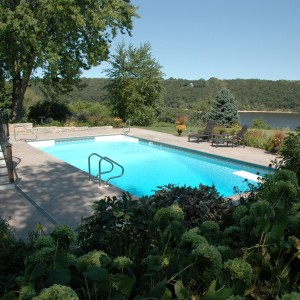 Minnesota Pool Landscape